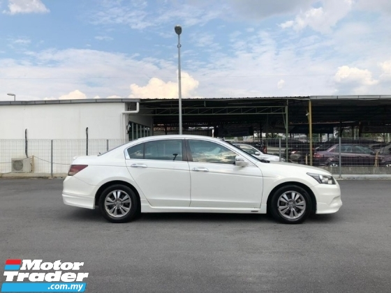 2012 HONDA ACCORD FACELIFT 2012 FULL MUGEN  2.0 VTi-L(A)  FREE 1YEAR WARRANTY GOOD CONDITION LOW MLEAGE LIKE NEW ACCIDENT FREE AND 1 CAREFUL OWNER