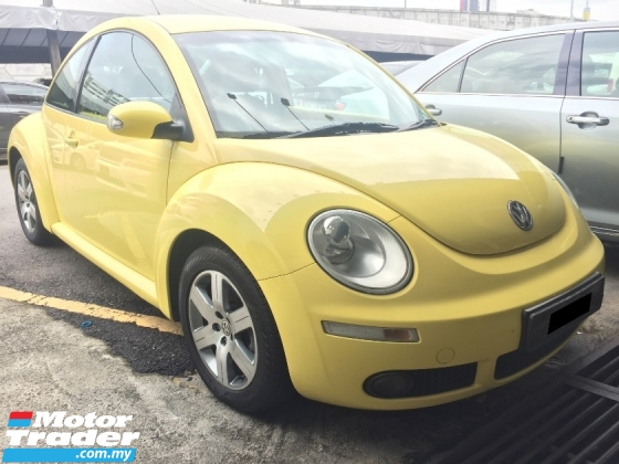 2007 VOLKSWAGEN BEETLE 2.0 (A) CBU Registered 2008