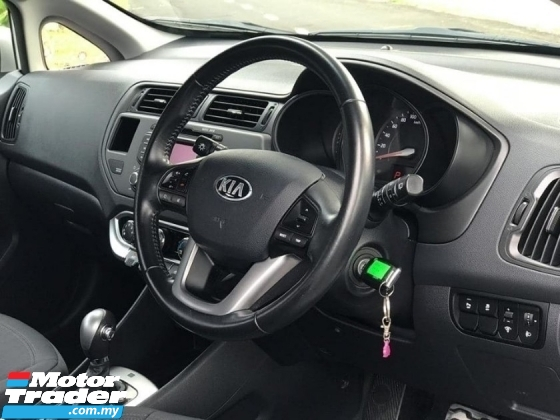 2016 KIA RIO 1.4 (A) FULL SERVICE SUPER LOW MILEAGE 27KKM ONE LADY OWNER LIKE NEW CAR