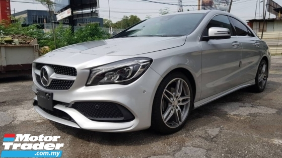 2016 MERCEDES-BENZ CLA 180 1.6 AMG (clear stock)