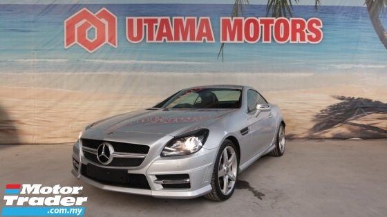 2014 MERCEDES-BENZ SLK SLK200 AMG SPORT CONVERTIBLE RED NAPPA LEATHER SEATS YEAR END SALE