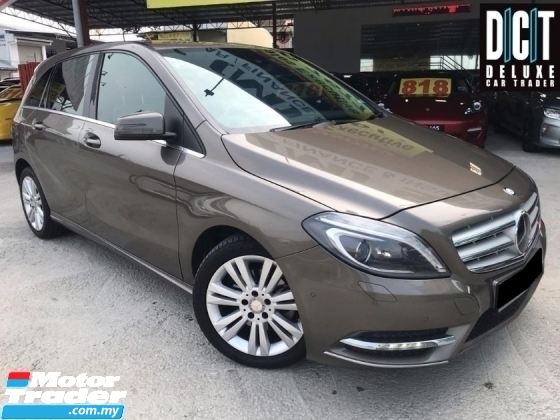 2015 MERCEDES-BENZ B-CLASS B200 1.6 PREMIUM BLUEEFCY CBU ONE OWNER NO ( 21 ) FULL SERVICE TIPTOP CONDITION LIKE NEW CAR