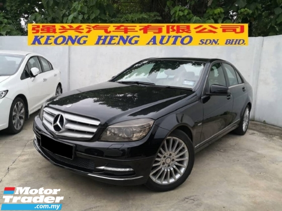 2011 MERCEDES-BENZ C-CLASS C250 W204 1.8cc Turbo TRUE YEAR MADE 2011 Local Avantgarde FREE 1 YEAR WARRANTY