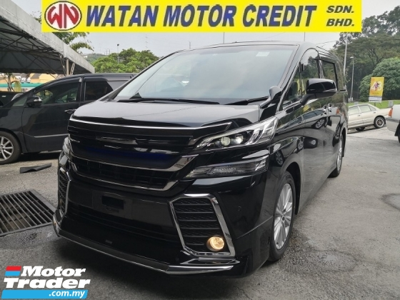 2015 TOYOTA VELLFIRE 2.5 ZA INC SST 360 CAM SUNROOF POWER BOOT JAPAN UNREG