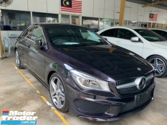 2016 MERCEDES-BENZ CLA 250 AMG panoramic roof back camera memory seats unregistered
