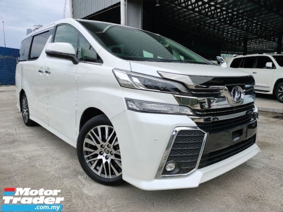 2016 TOYOTA VELLFIRE 2016 Toyota Vellfire 2.5 ZG Pilot Seat Power Boot 2 Power Door Unregister for sale