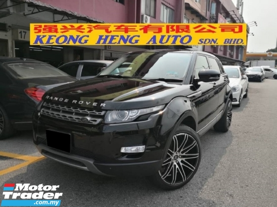 2013 LAND ROVER EVOQUE 2.0 Si4 Petrol 4 Doors TRUE YEAR MADE Japan Edition 360 Surround Cameras Power Boot 2018