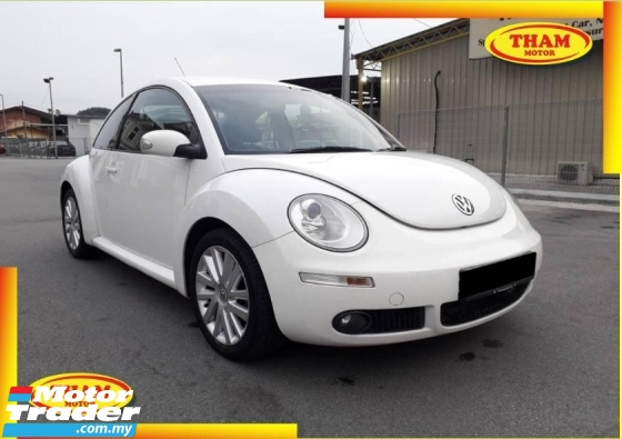 2010 VOLKSWAGEN NEW BEETLE 2.0(A)FULL SPEC FREE 1YEAR WARRANTY GOOD CONDITION LOW MLEAGE LIKE NEW ACCIDENT FREE AND 1 CAREFUL OWNER