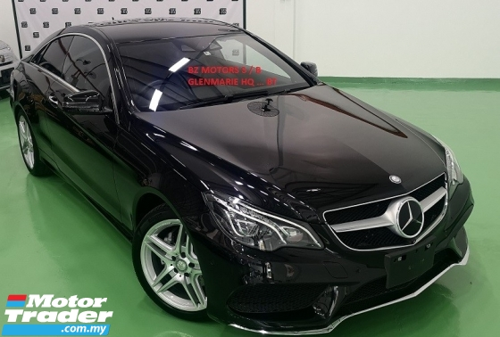 2015 MERCEDES-BENZ E-CLASS 2015 MERCEDES BENZ E250 2.0 AMG COUPE JAPAN SPEC CAR SELL PRICE RM 198,000.00 NEGO ORIGINAL MILEAGE
