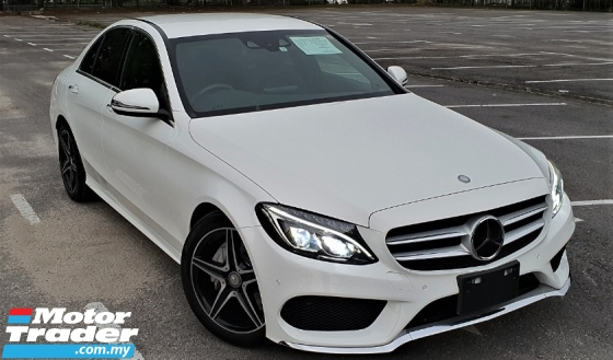 2015 MERCEDES-BENZ C-CLASS 2015 MERCEDES C180 1.6 AMG SPEC ORIGINAL FROM JAPAN UNREG CAR SELLING PRICE RM 173,000.00 NEGO