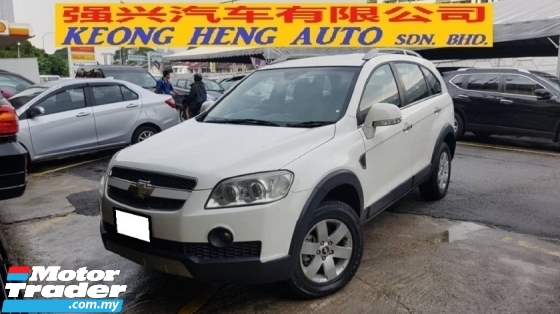 2010 CHEVROLET CAPTIVA CAPTIVA 2.4 AWD (A) REG 2011, CBU, ONE CAREFUL OWNER, FULL SERVICE RECORD, LOW MILEAGE DONE 83K KM, FREE 1 YEAR GMR CAR WARRANTY, 16\