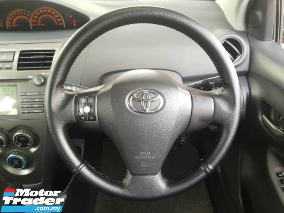 2009 TOYOTA VIOS 1.5 S (A) SPORTIVO  FREE 1YEAR WARRANTY GOOD CONDITION LOW MLEAGE LIKE NEW ACCIDENT FREE AND 1 CAREFUL OWNER