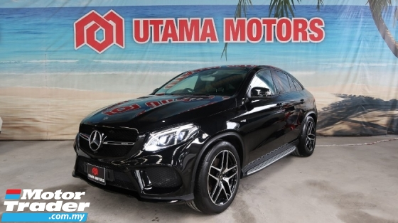 2017 MERCEDES-BENZ GLE 43 AMG PREMIUM PANORAMIC ROOF SURROUND CAMERA VIEW YEAR END SALE