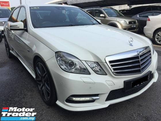 2012 MERCEDES-BENZ E-CLASS E250 AMG 1.8 (A) Registered 2013