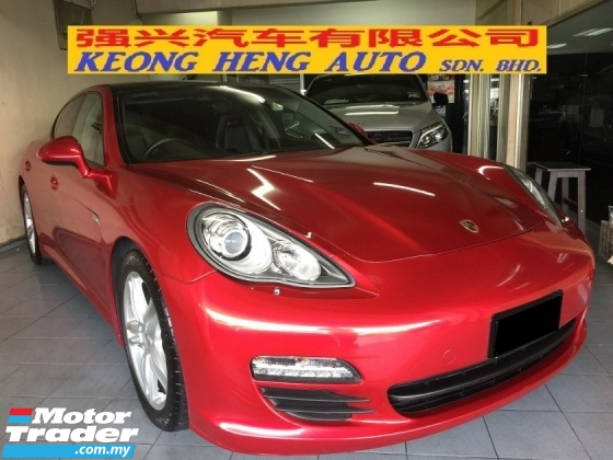 2011 PORSCHE PANAMERA 3.6 (A) Sunroof Powerboot Registered 2016