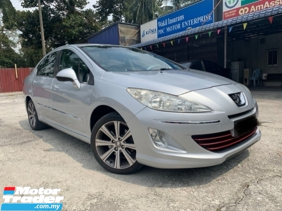 2016 PEUGEOT 408 1.6 TURBO(A)FULL SERVICE RECORD