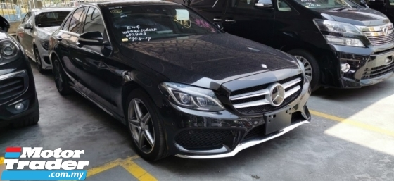 2014 MERCEDES-BENZ C-CLASS C180 1.6 AMG SPORT / READY STOCK NO NEED WAIT / 5 YEARS WARRANTY UNLIMITED KM
