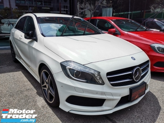 2014 MERCEDES-BENZ A-CLASS Mercedez A180 AMG Sports  with Night Vision