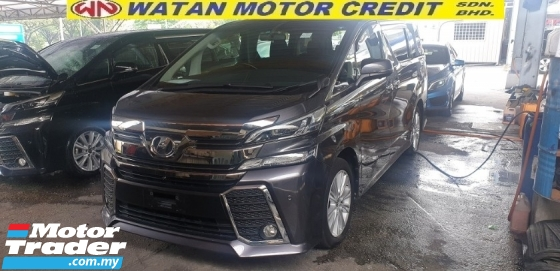 2016 TOYOTA VELLFIRE 2.5ZA Edition FOC POWER BOOT SURROUND CAMERA NO HIDDEN CHARGES
