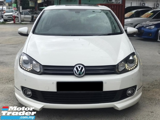 2013 VOLKSWAGEN GOLF 1.4 TSI SE LIMITED PADDELSHIFT 1 OWNER TIPTOP LIKE NEW CONDITION