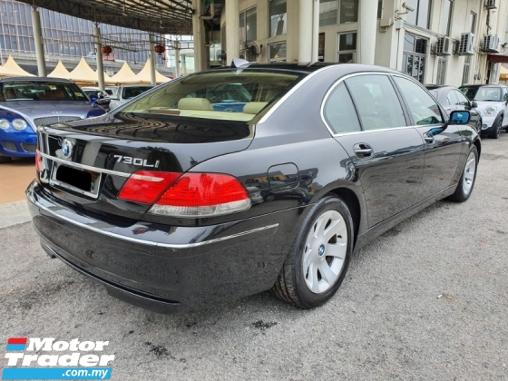 2007 BMW 7 SERIES 730LI (A) CBU