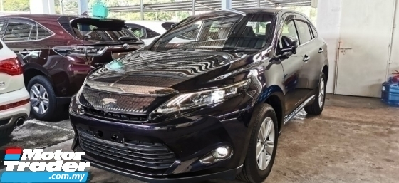 2015 TOYOTA HARRIER 2.0 PREMIUM UNREG.INCLUDED SST.TRUE YEAR CAN PROVE.POWER BOOT.360 SURROUND CAMERA.BIG SCREEN MONITOR.KEYLESS ENTRY.PUSH START BUTTON.LED DAYLIGHT N ETC.FREE WARRANTY N MANY GIFTS