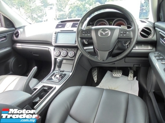 2011 MAZDA 6 2.5 Facelift Keyles Paddle Shift Sunroof LikeNEW