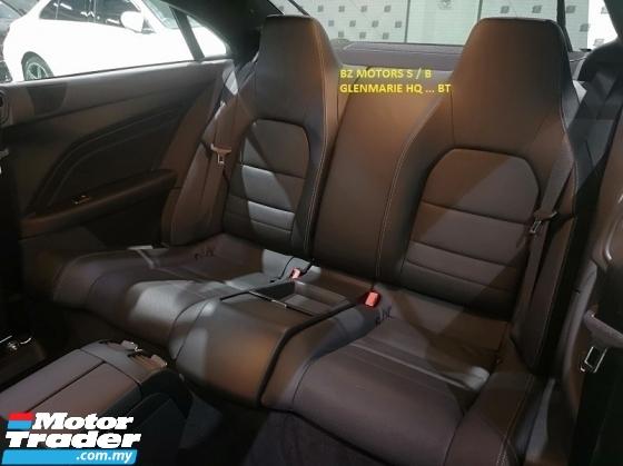 2015 MERCEDES-BENZ E-CLASS 2015 MERCEDES BENZ E250 2.0 AMG COUPE JAPAN SPEC CAR PRICE  RM 195000.00 ORIGINAL MILEAGE