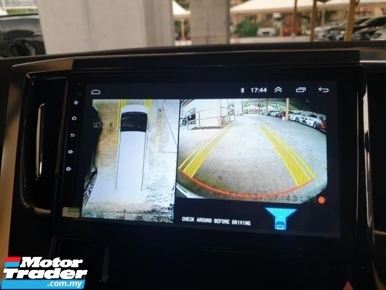 2018 TOYOTA ALPHARD 2.5 SA Facelift Surround Camera Power Boot Local AP Unreg