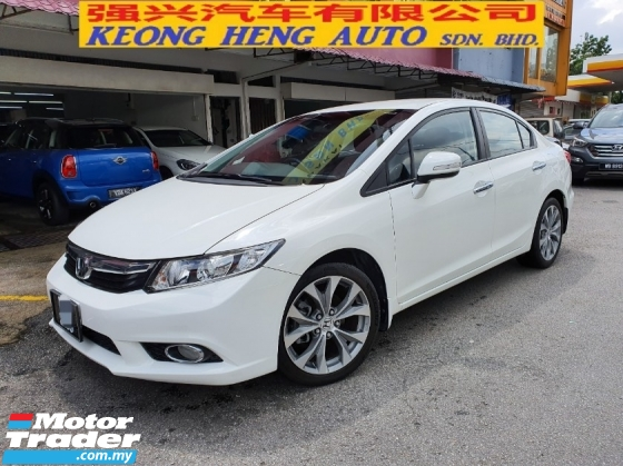 2013 HONDA CIVIC 2.0S 1 Malay Owner [Full Service Honda]