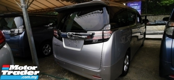 2015 TOYOTA VELLFIRE 2.5 UNREG.INCLUDED SST.TRUE YEAR CAN PROVE.2 WHEEL DRIVE.POWER DOOR N BOOT.360 CAMERA.LED LIGHT.KEYLESS ENTRY.PUSH START BUTTON N ETC.FREE WARRANTY N MANY GIFTS