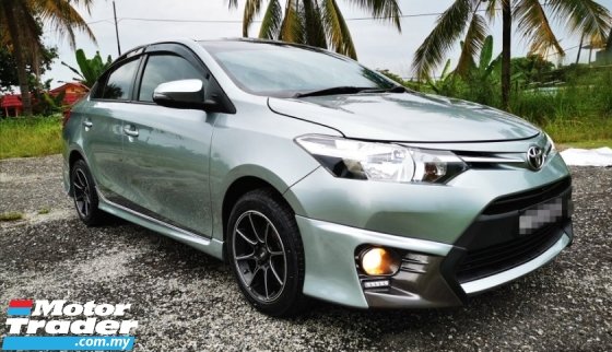 2014 TOYOTA VIOS FACELIFE 1.5 AUTO / VVTI ENGINE SAVE PETROL / TRD BODYKIT / PLAYER SUPPORT ANDROID / 4 MICHELIN TAYAR / TIPTOP CONDITION / HIGH LOAN