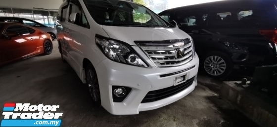 2014 TOYOTA ALPHARD 2.4 TYPE GOLD2 / LIMITED OFFER UNIT / 5 YEARS WARRANTY UNLIMITED KM