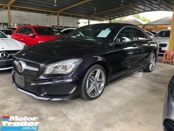 2016 MERCEDES-BENZ CLA CLA250 AMG Sport Fully Loaded 2.0 Turbocharge 211hp Panoramic Roof Smart Entry Push Start Button Harman Kardon Surround System 2 Memory Bucket Seat Intelligent Xenon Multi Function Paddle Shift Reverse Camera Bluetooth Connectivity Unreg