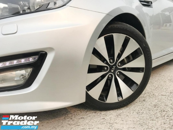 2013 KIA OPTIMA 2.0 EX K5 WITH VVIP DOUBLE DIGIT NUMBER