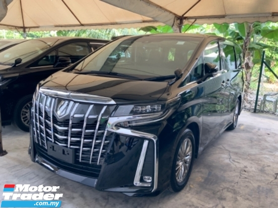 2018 TOYOTA ALPHARD 2.5 SA precrash 360 camera power boot 7 seats Bluetooth lane assist precrash system unregistered