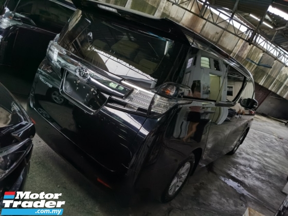 2015 TOYOTA VELLFIRE 2.5 X 8 SEATERS 2WD POWER DOOR POWER BOOTH 4 CAMERA 2015 JAPAN UNREG