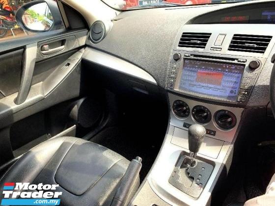 2011 MAZDA 3 1.6 PREMIUM SPORT FULL SPEC Sedan BLACKLIST BOLE LOAN(AUTO)Only 1 LADY Owner, 69K Mileage, DVD GPS & REVERSE CAMERA HONDA TOYOTA NISSAN MAZDA PERODUA MYVI AXIA VIVA ALZA SAGA PERSONA EXORA ERTIGA VIOS YARIS ALTIS CAMRY VELLFIRE CITY ACCORD CIVIC ALMERA