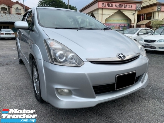 2007 TOYOTA WISH 2.0 S THE ONLY (ONE) OWNER ONLY