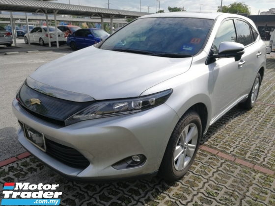 2016 TOYOTA HARRIER 2.0 Elegance Panoramic Demo Unit 16/18