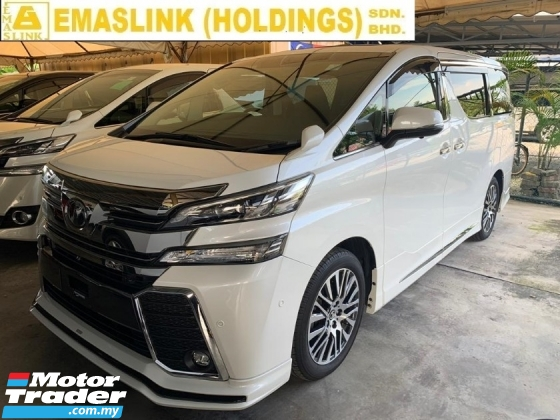 2016 TOYOTA VELLFIRE 2.5 ZG Unregister 2.xx% Interest Rate SST inclusive JBL Home Theater Pilot Seat SilkBlaze Bodykit Surround Camera PreCrashWarningSytem Price Negotiable New Arrival