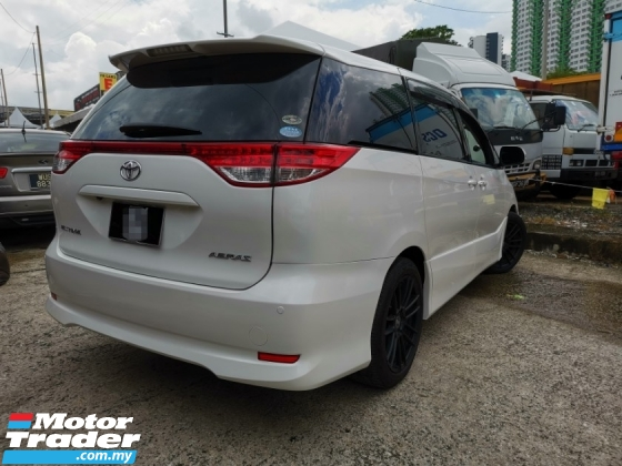 2009 TOYOTA ESTIMA 2.4AERAS G EDITION NAVI SPECIAL 360 CAMERA FULL LEATHER SEAT ACCIDENT FREE PREVIOUSLY OWN BY VIP