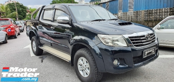 2013 TOYOTA HILUX 2013 Toyota Hilux 2.5 VNT turbo (A) 4x4 G Hight Spec