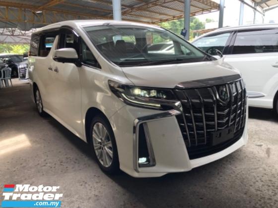 2018 TOYOTA ALPHARD Unreg Toyota Alphard SA 2.5 360view PowerBoot New Model Push Start 7G