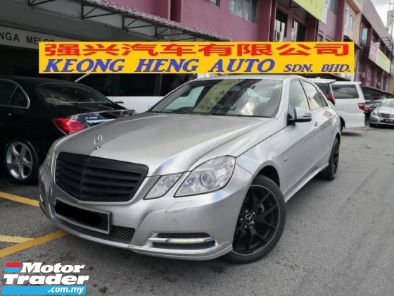2011 MERCEDES-BENZ E-CLASS E200 W212 CKD TRUE YEAR MADE 2011 FREE 1 YEAR WARRANTY