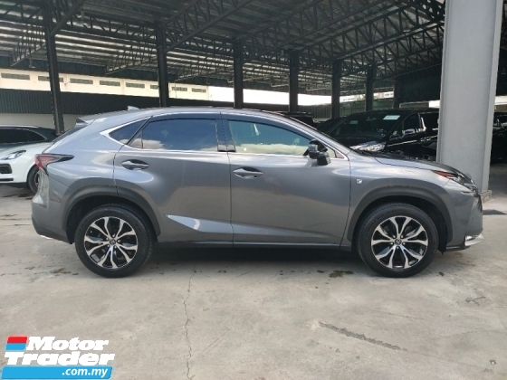 2014 LEXUS NX 2014 Lexus NX200T F Sport Sun Roof 4 Cam 360 View HUD BSM Red Leather Power Boot Unregister for sale