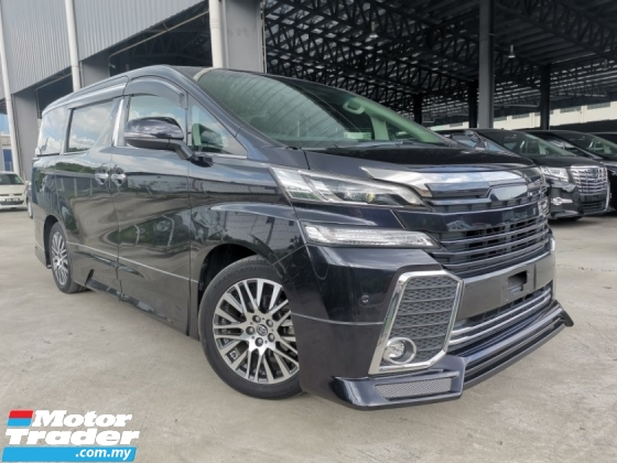 2015 TOYOTA VELLFIRE 2.5 ZG SUNROOF ADMIRATION BODYKIT OFFER UNREG