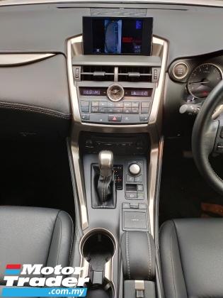 2016 LEXUS NX 2016 Lexus NX200T i Package 3 LED  Pre Crash Power Boot Unregister