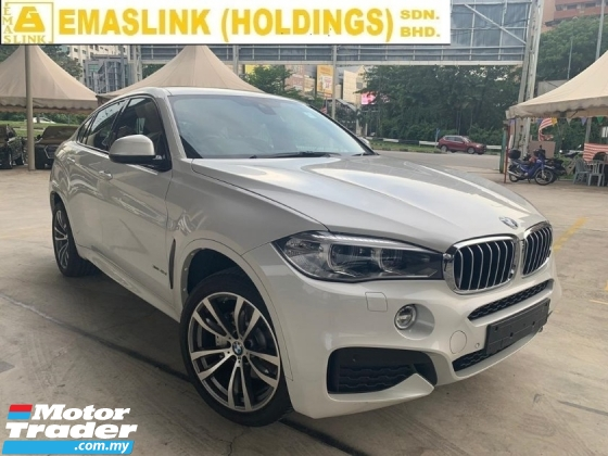 2015 BMW X6 40d 3.0 xDrive40d M Sport 309BHP Unregister SST Inclusive 2.xx interest Rate Up to 9years Power Boot Sunroof Camera 20\