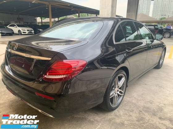 2017 MERCEDES-BENZ E-CLASS E220D 2.0 d AMG UNREGISTER SST INCLUSIVE 2.xx INTEREST RATE UP TO YEARS CHEAPEST NEW E-CLASS PRICE NEGOTIABLE